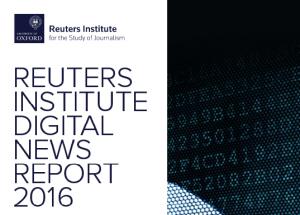 Sursa: Digital News Report 2016